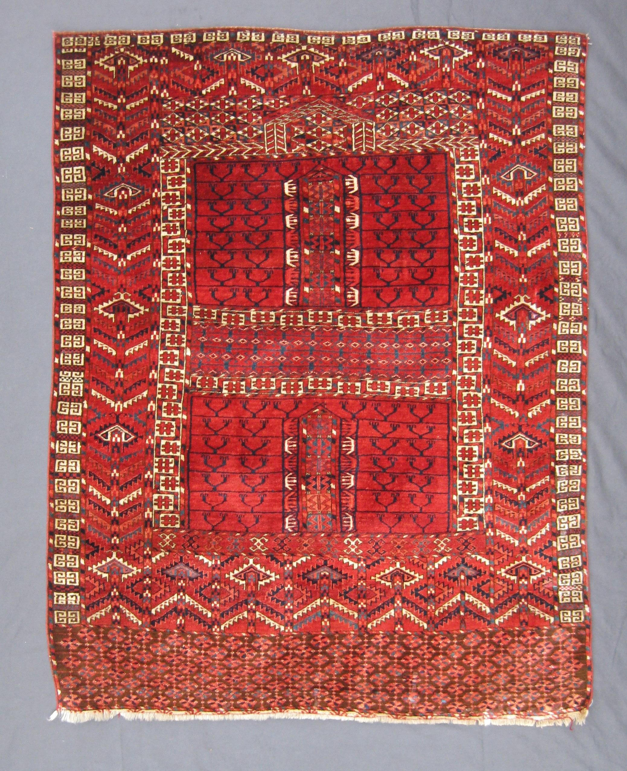 Antique Turkoman Rug: Antique Turkoman Tekke Engsi