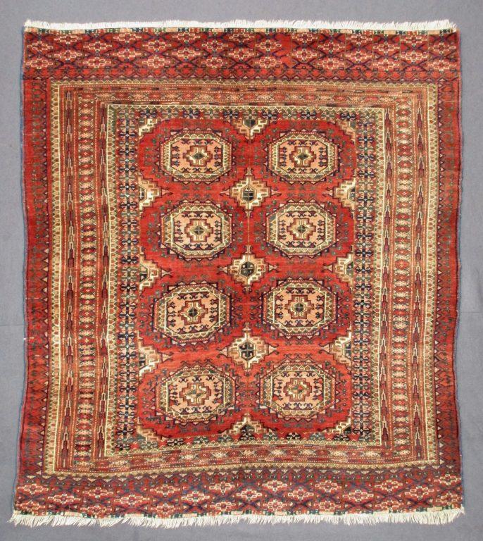 Antique Turkoman Rug: Antique Tekke Turkoman Rug